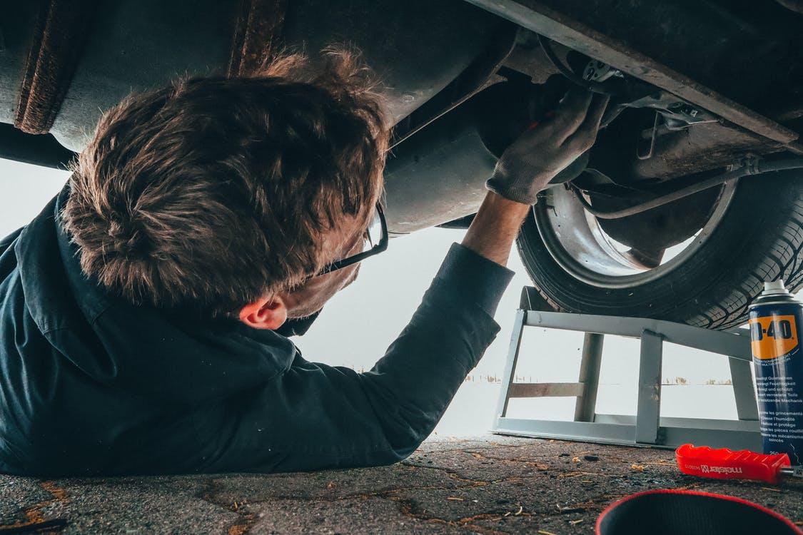 Reparer bil